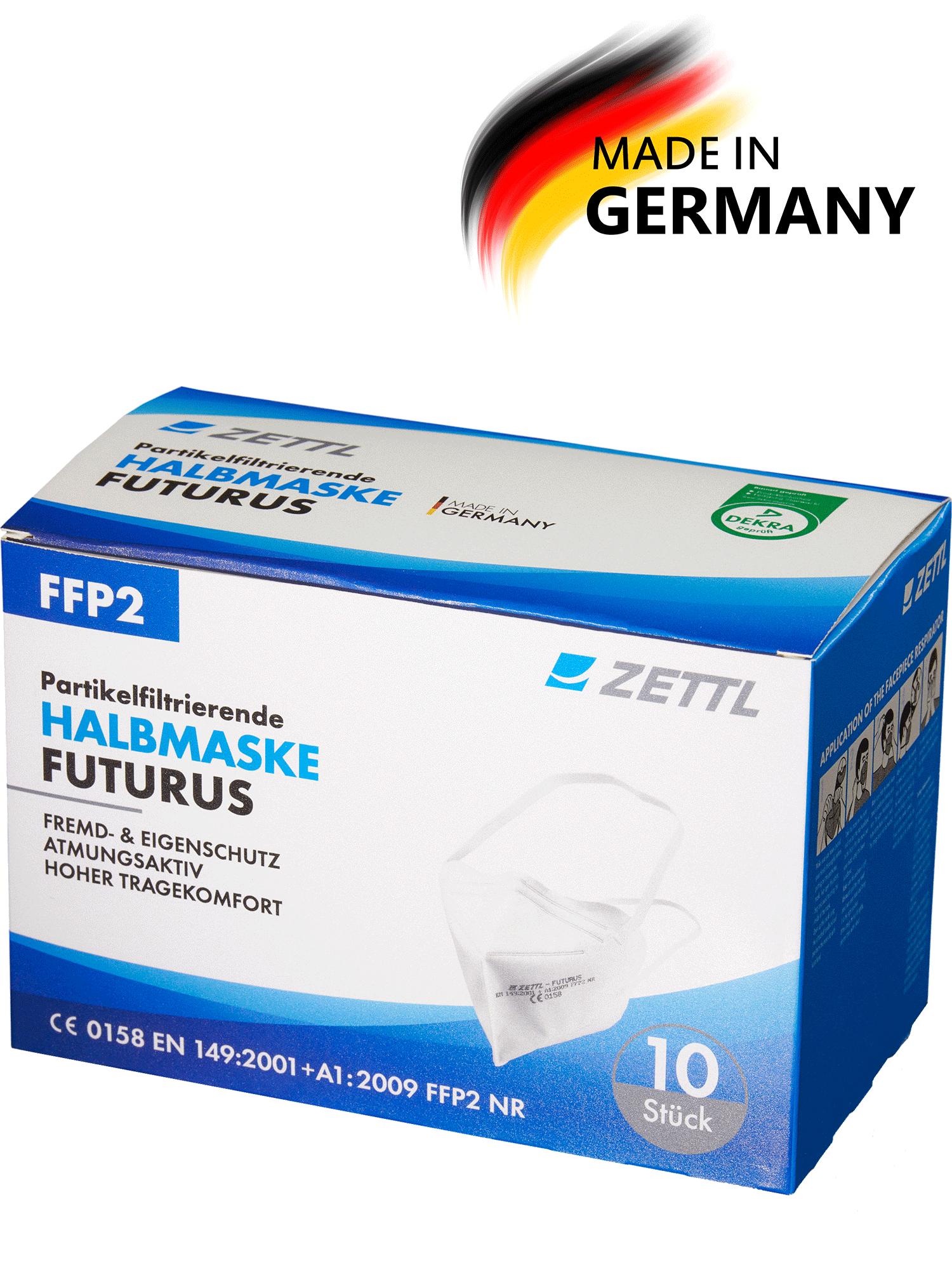 ZETTL FUTURUS FFP2 Maske