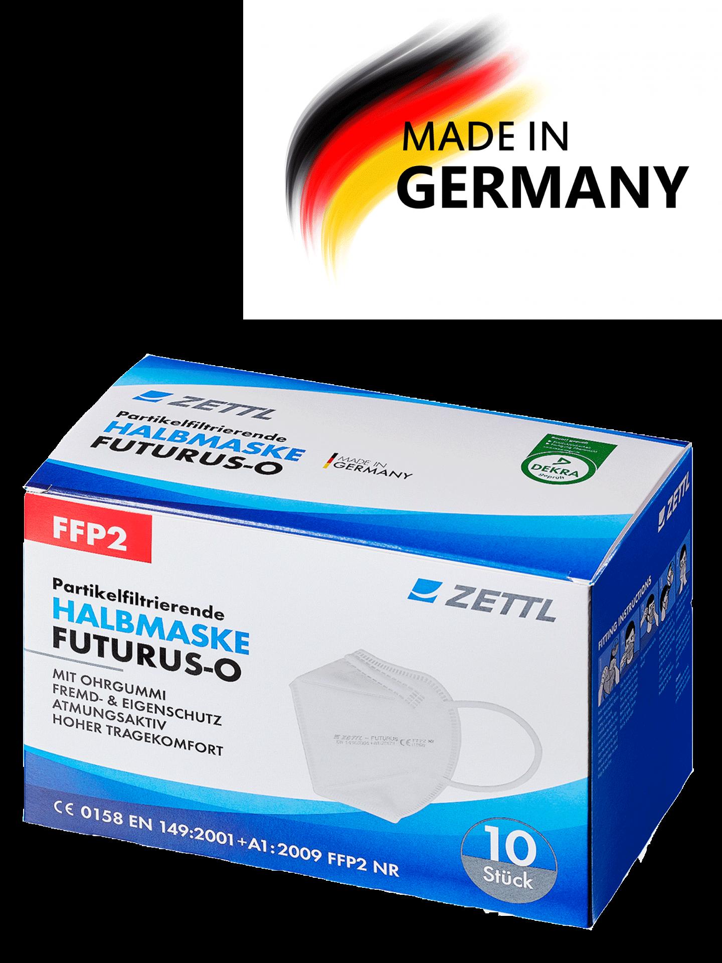 ZETTL FUTURUS-O FFP2 Maske